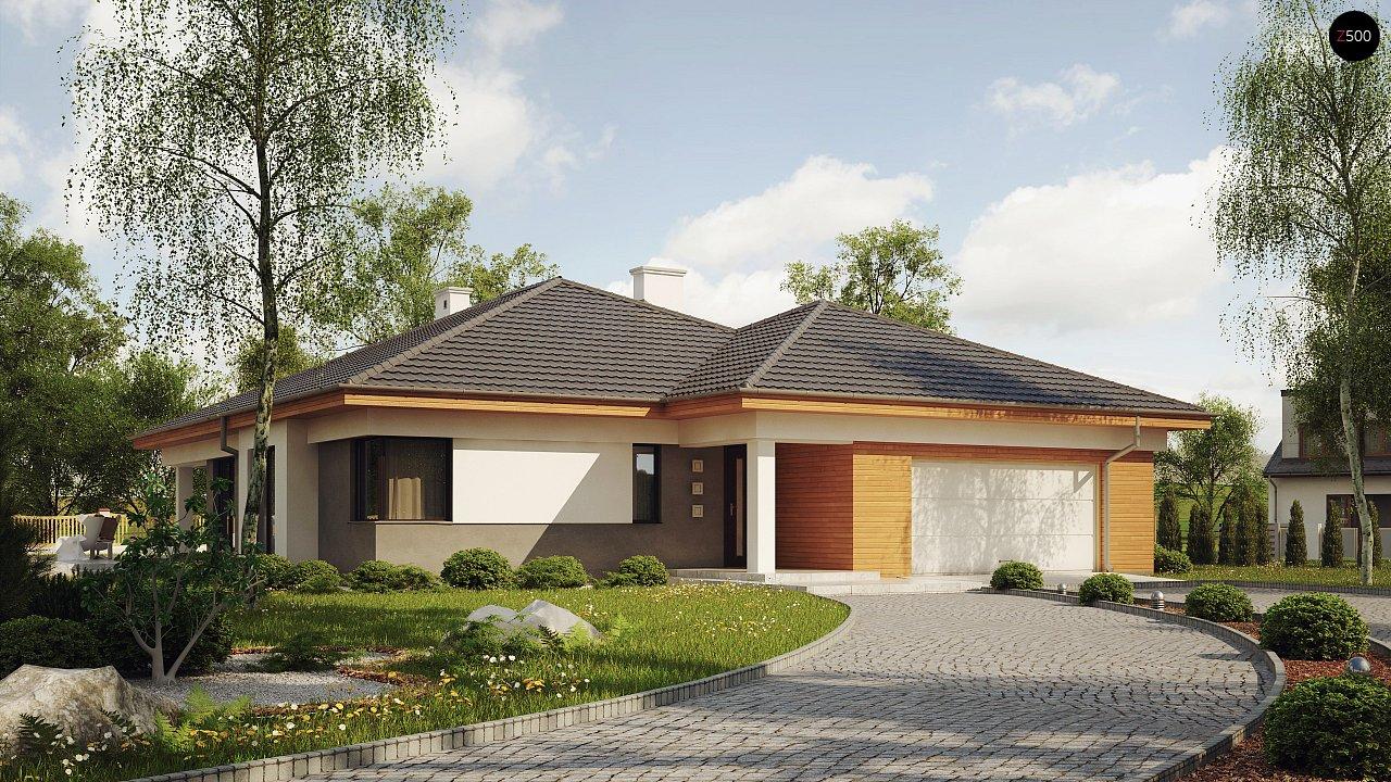 Проект будинку Z281 - 1