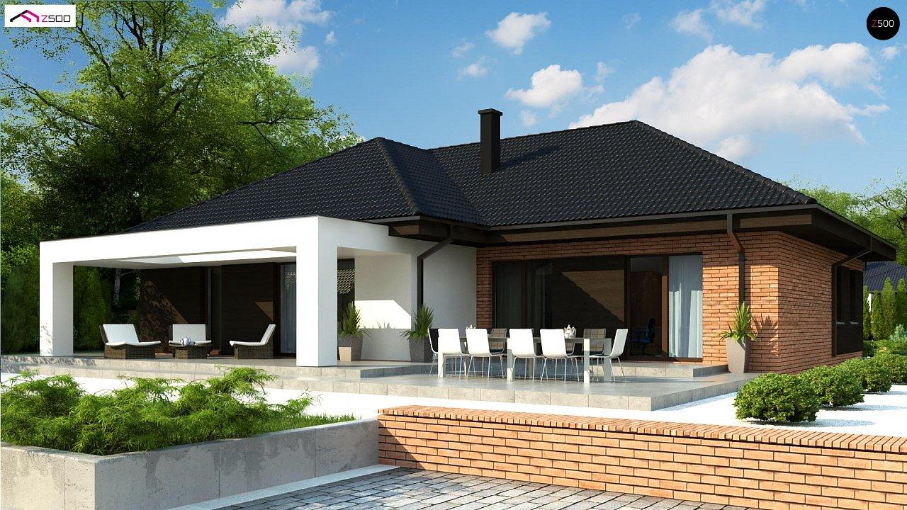 Проект будинку Z282 - 1