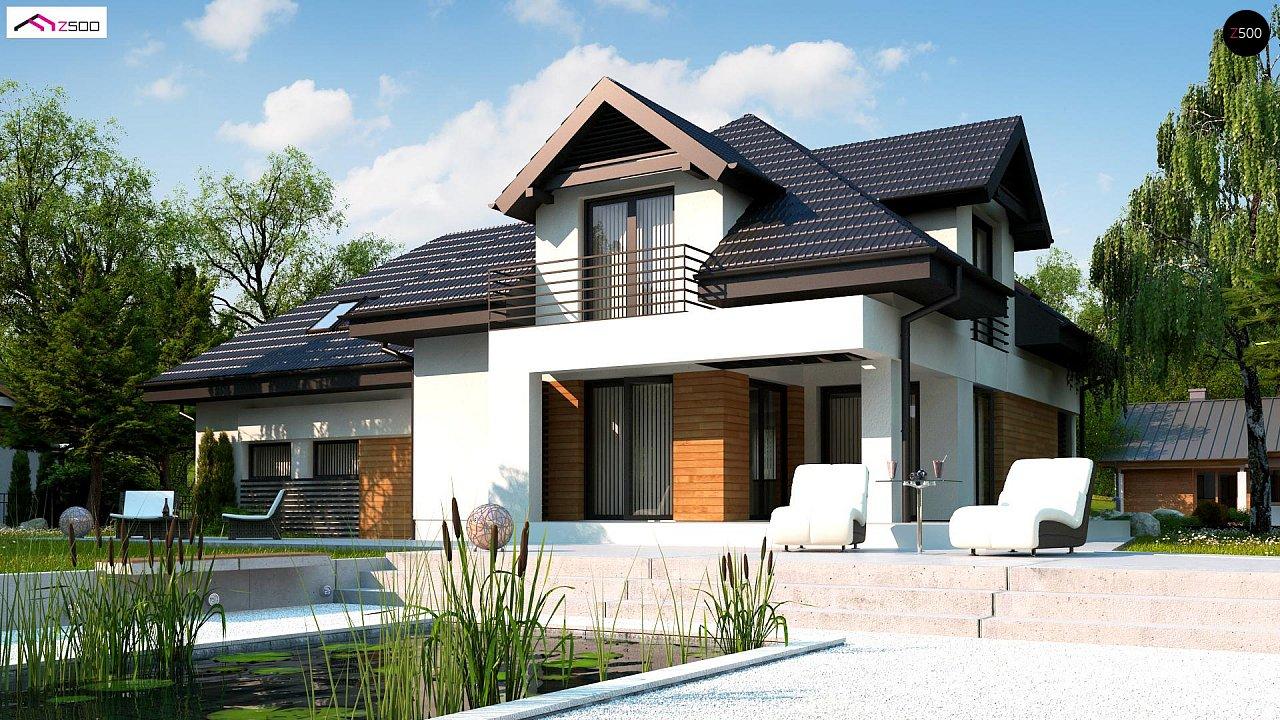 Проект будинку Z284 GP2 - 1