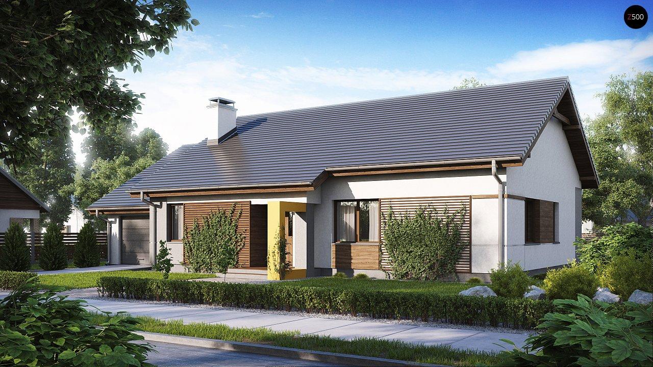 Проект будинку Z287 - 1