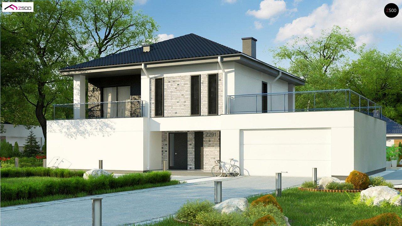 Проект будинку Z291 - 1