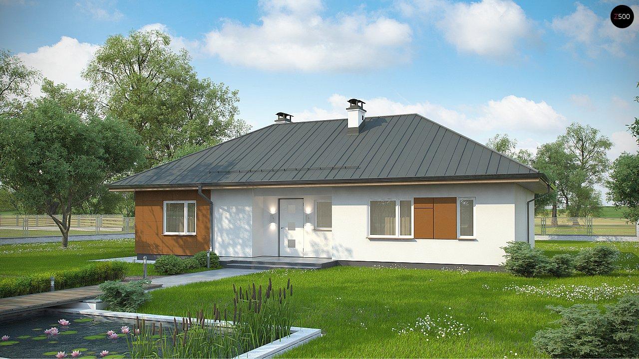 Проект будинку Z307 - 1