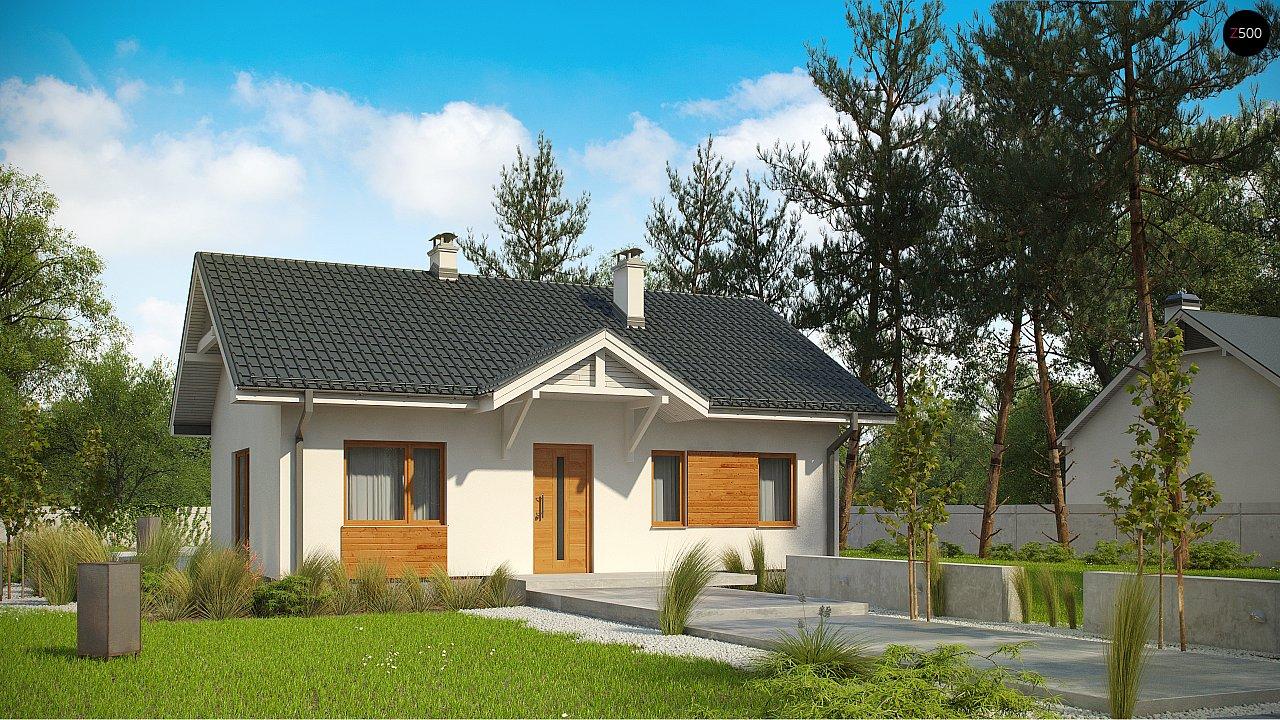 Проект будинку Z308 - 1