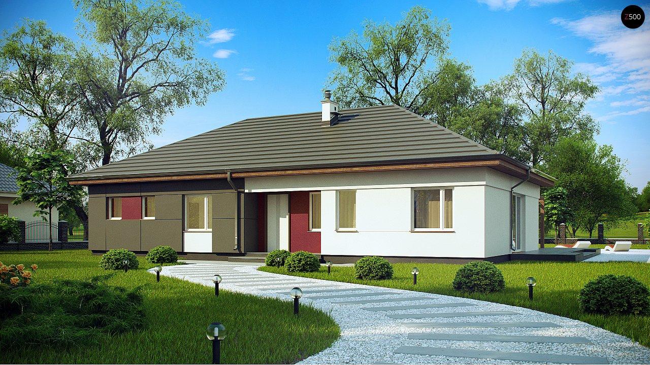 Проект будинку Z310 - 1