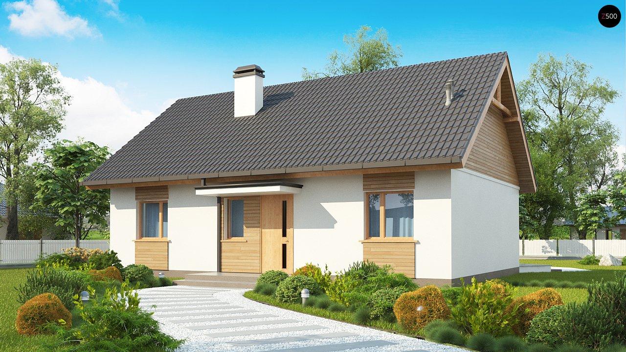 Проект будинку Z313 - 1