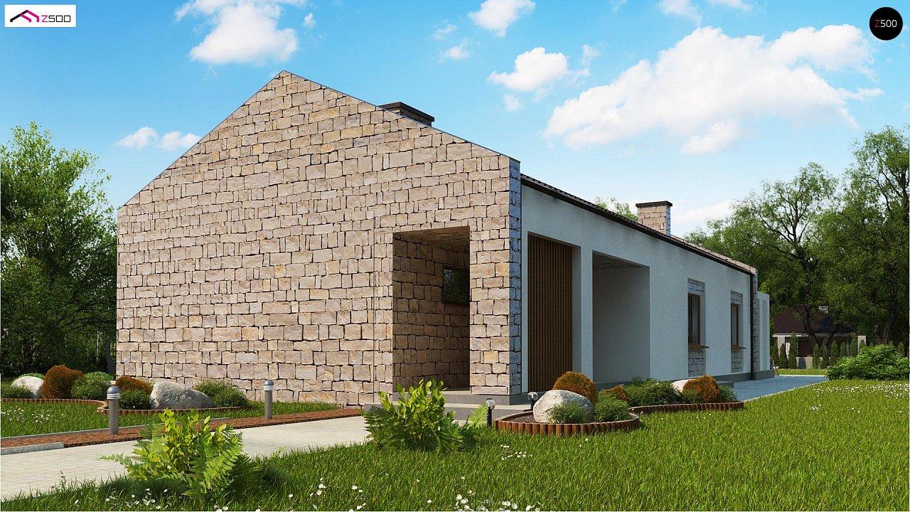 Проект будинку Z314 bg - 1