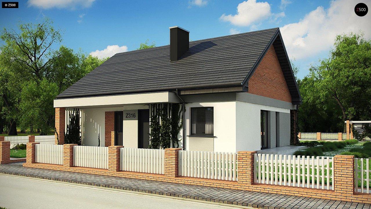 Проект будинку Z316 A - 1