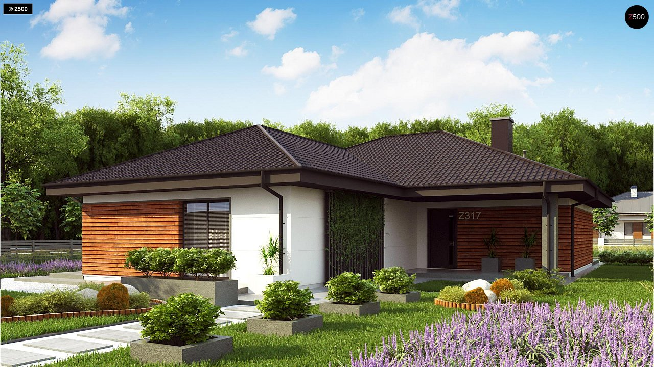 Проект будинку Z317 - 1