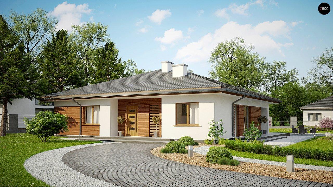 Проект будинку Z321 - 1