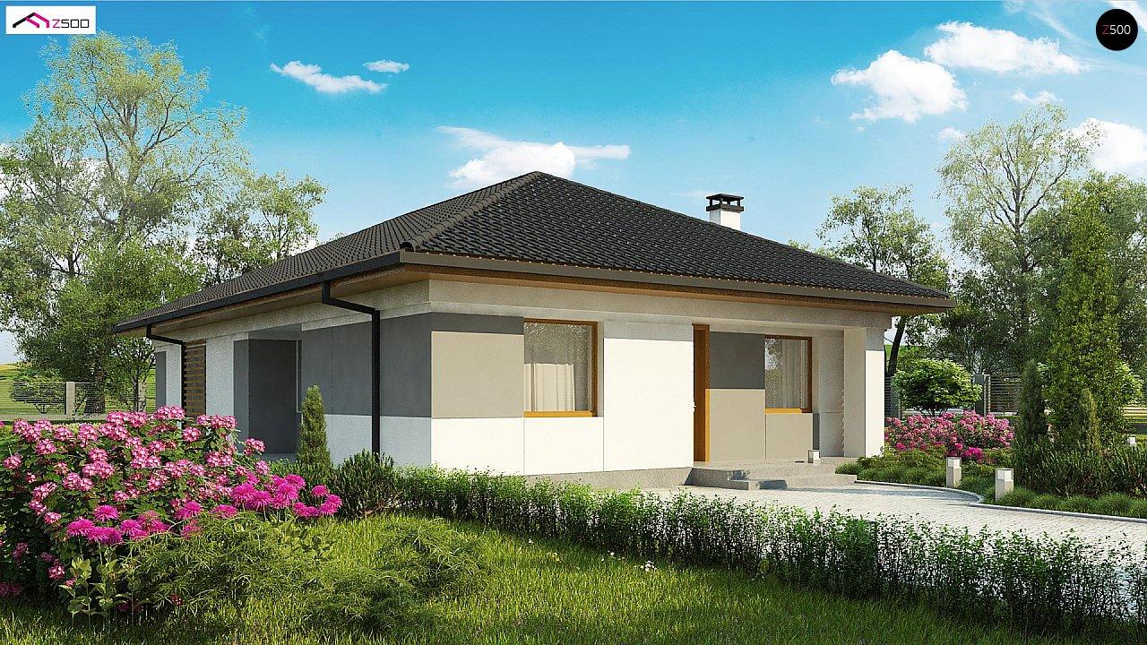 Проект будинку Z328 - 1