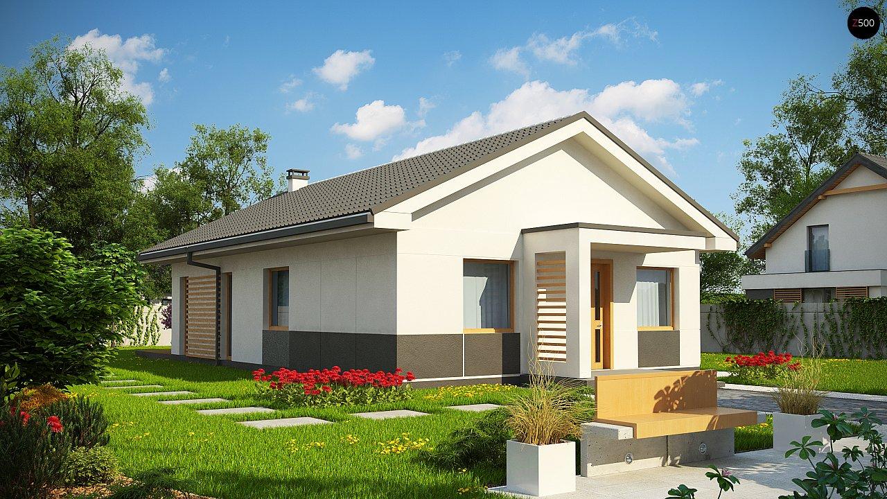 Проект будинку Z329 - 1