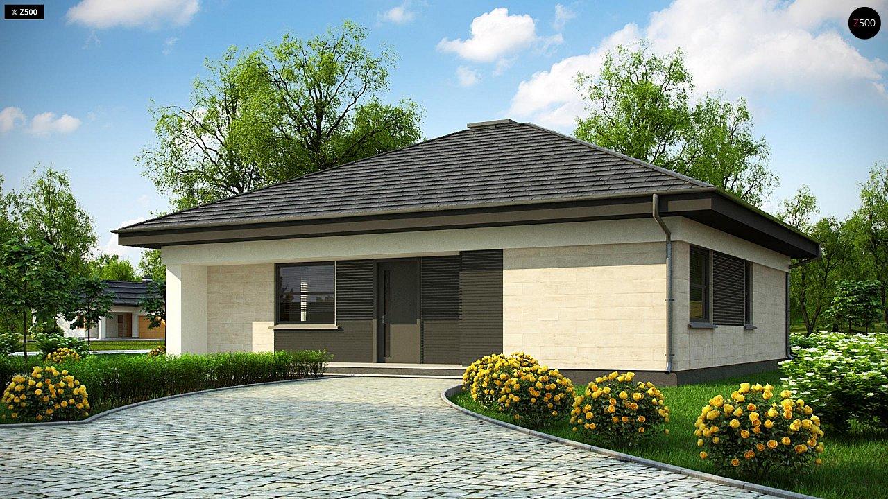 Проект будинку Z332 D - 1