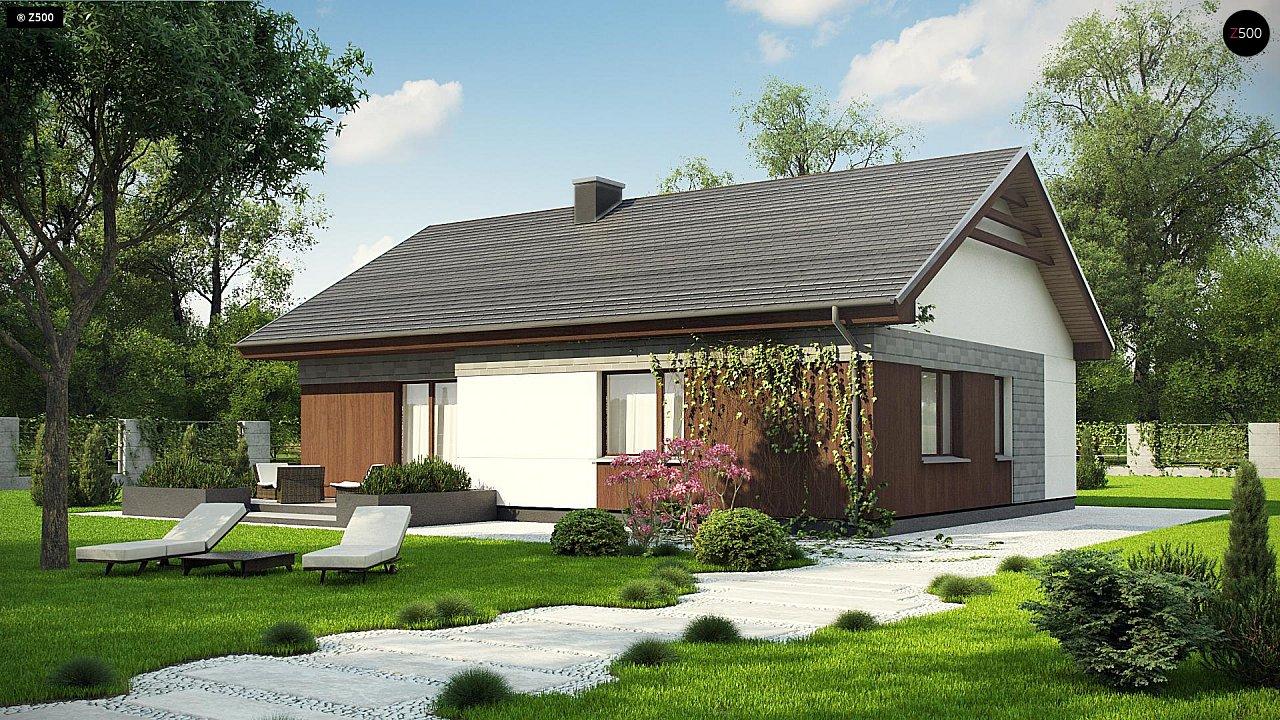 Проект будинку Z334 - 1