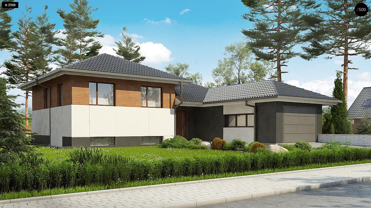 Проект будинку Z335 - 1