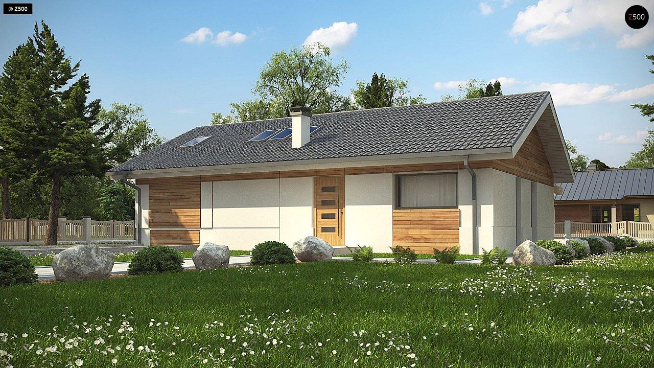 Проект будинку Z338 - 1