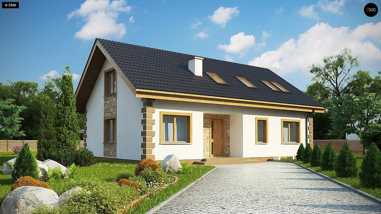 Проект будинку Z343 - 1