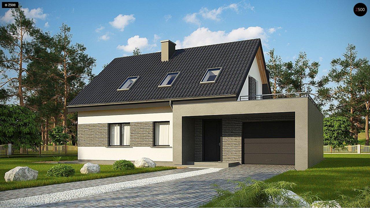 Проект будинку Z347 - 1