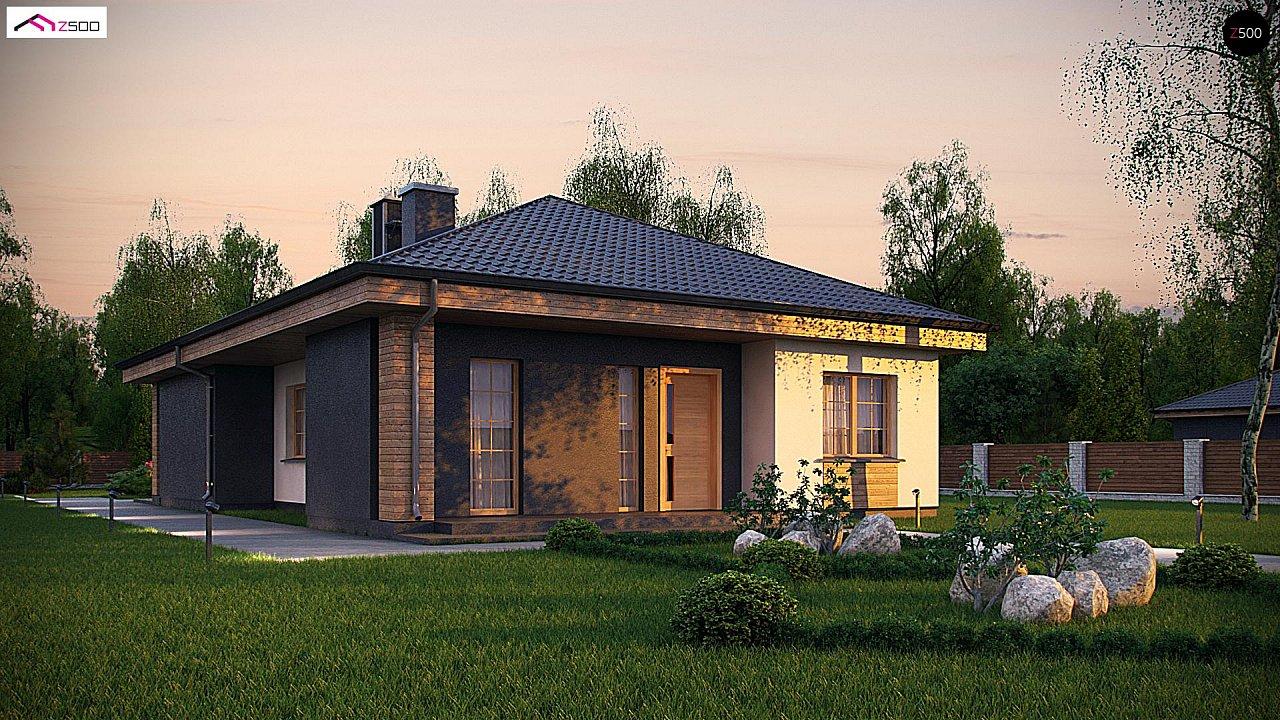 Проект будинку Z348 - 1