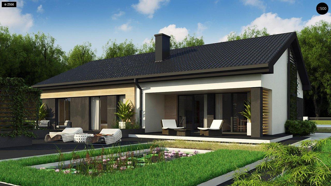 Проект будинку Z349 - 1