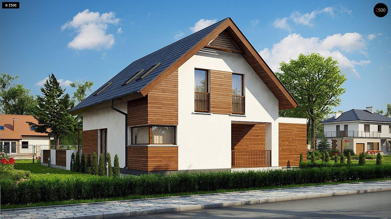 Проект будинку Z350 - 1