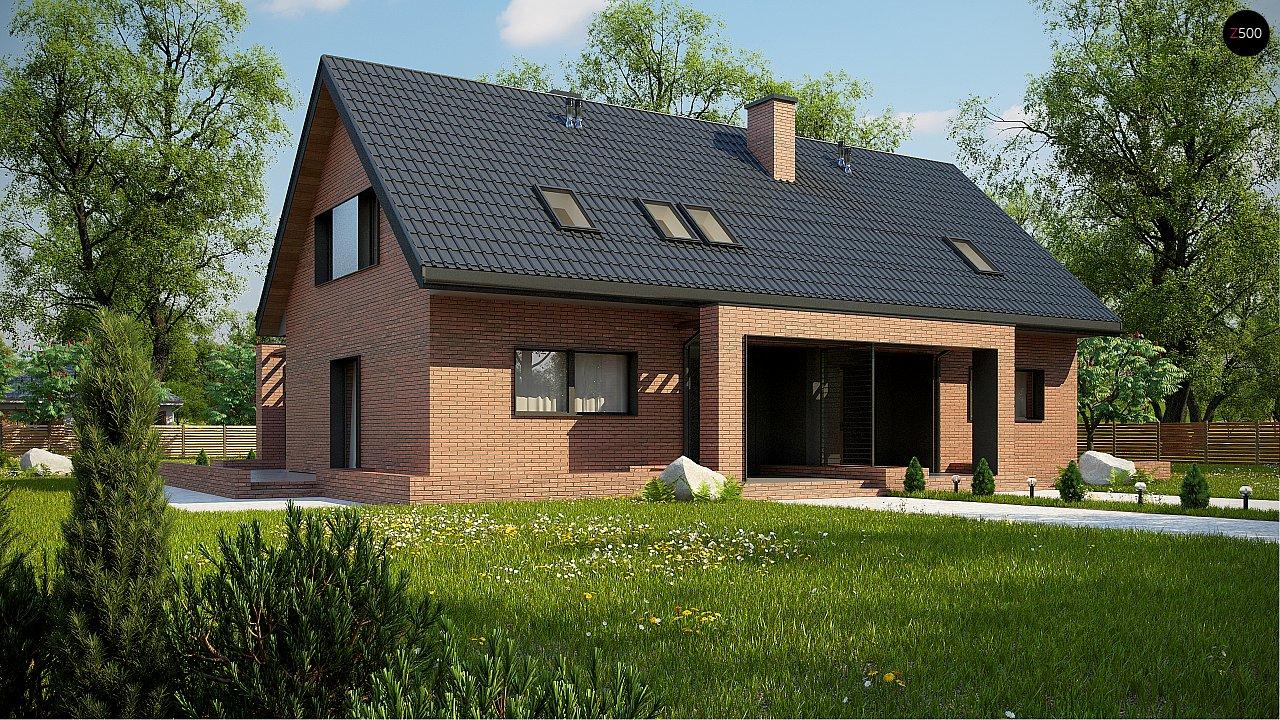 Проект будинку Z351 - 1