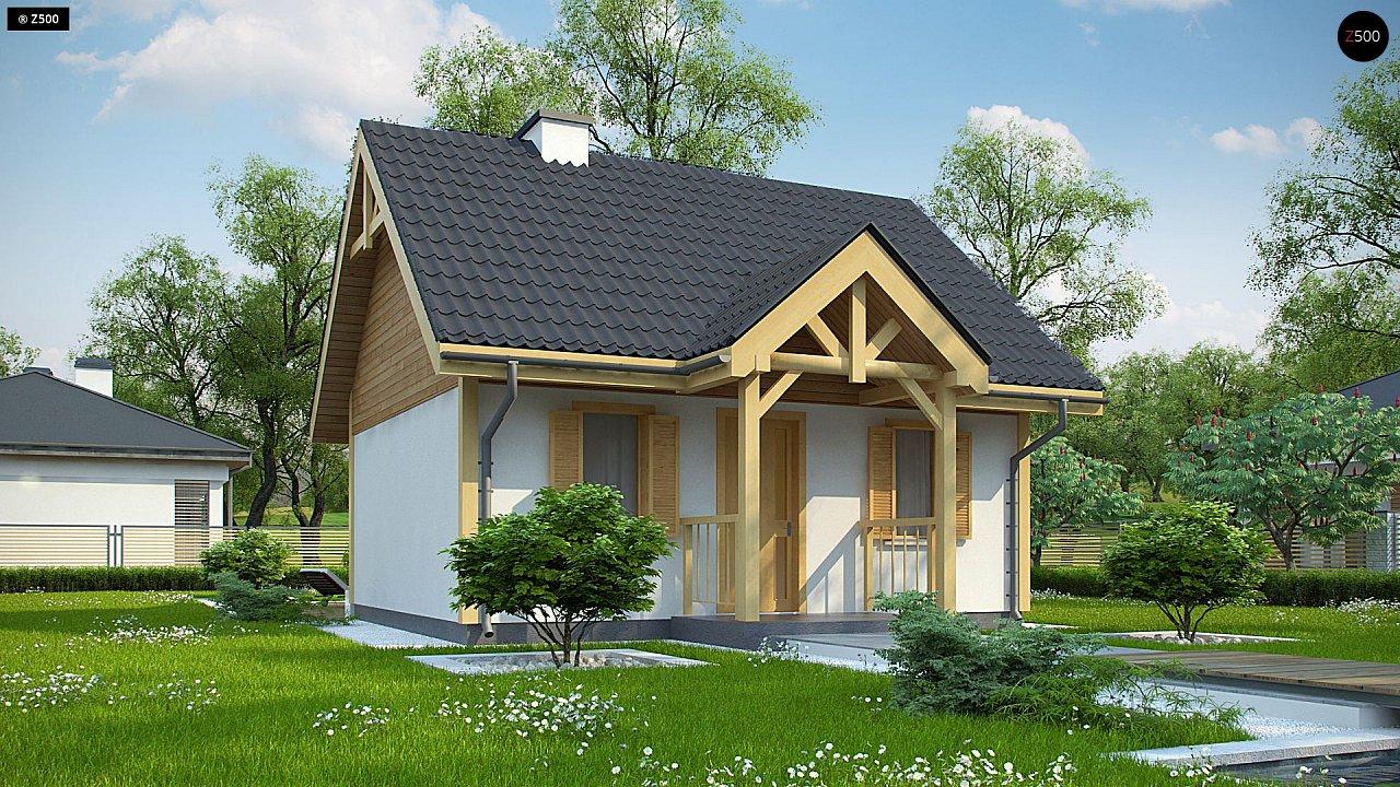 Проект будинку Z352 - 1