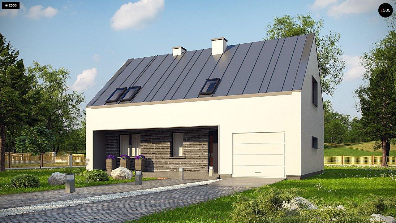 Проект будинку Z353 - 1