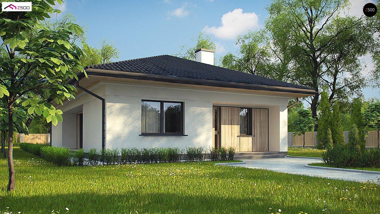 Проект будинку Z354 - 1
