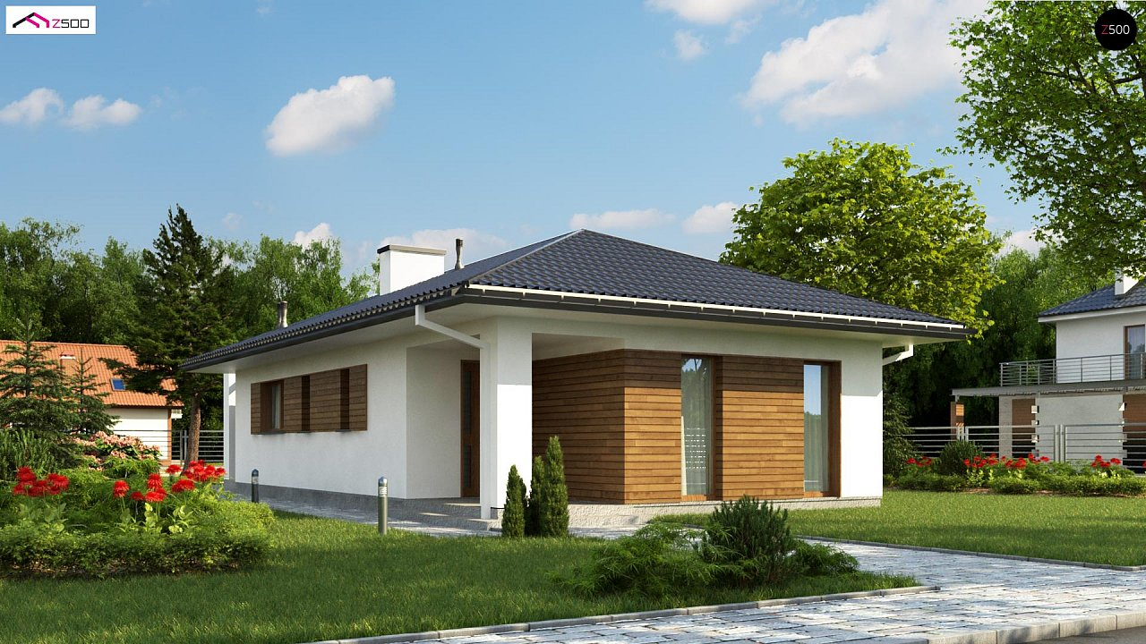 Проект будинку Z355 - 1