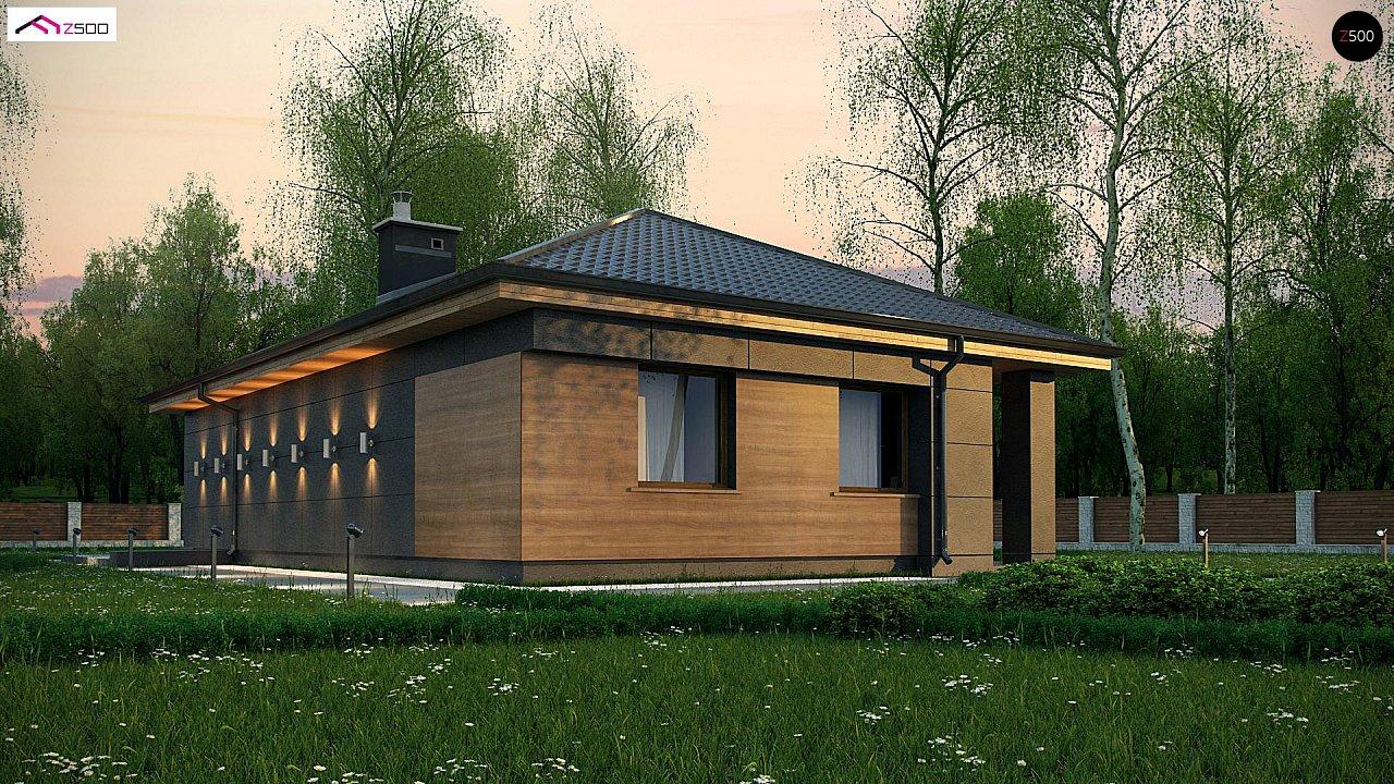 Проект будинку Z356 - 1