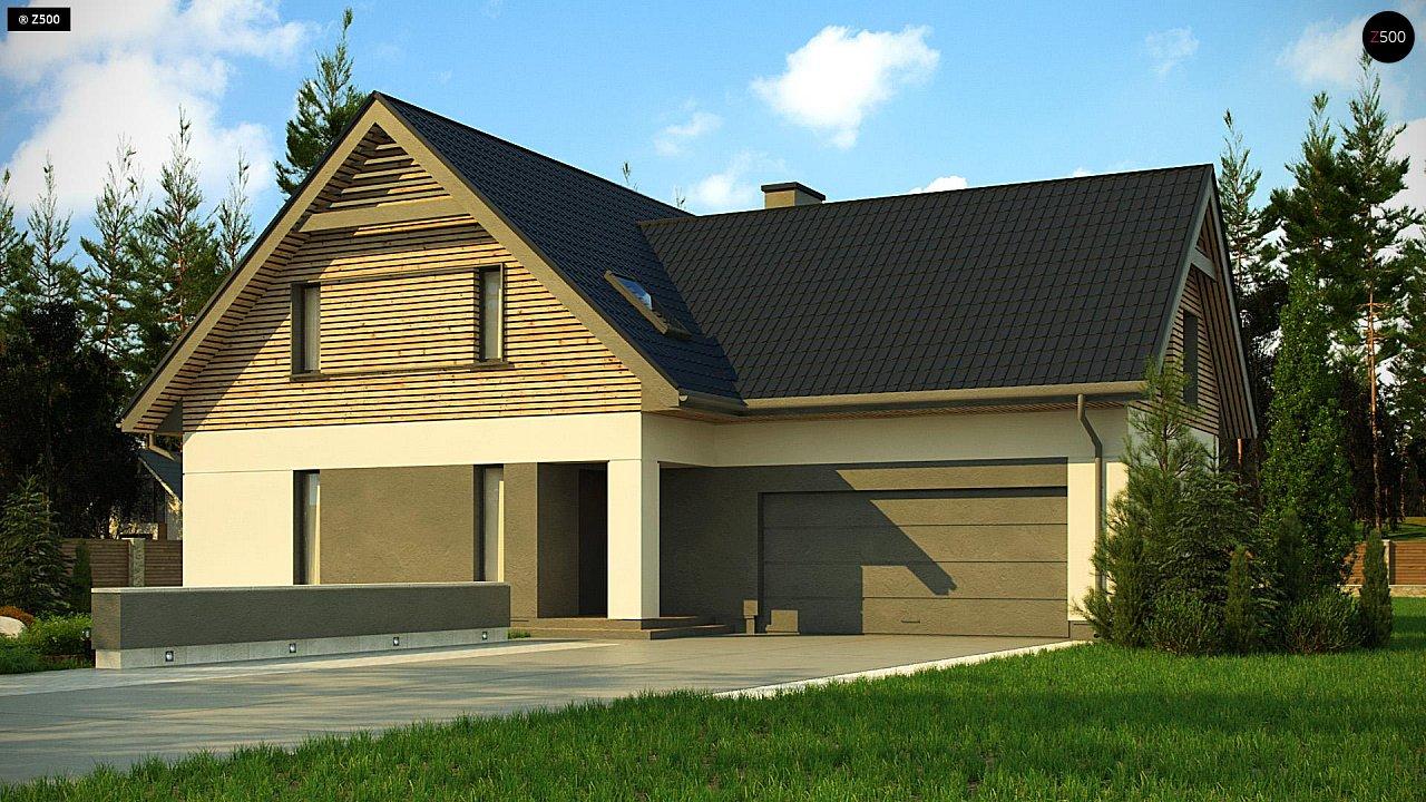 Проект будинку Z359 - 1