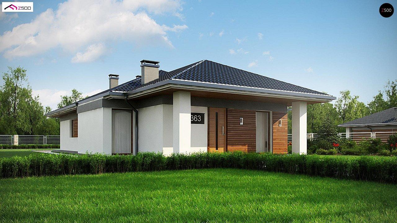 Проект будинку Z363 - 1