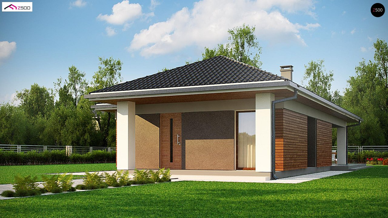 Проект будинку Z366 - 1