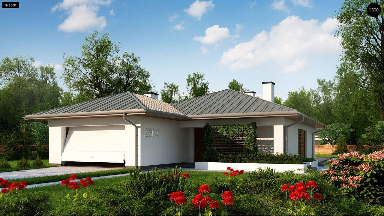 Проект будинку Z367 - 1
