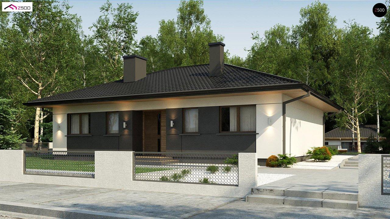 Проект будинку Z368 D - 1