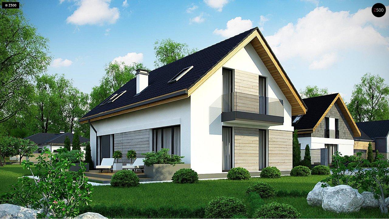 Проект будинку Z370 - 1