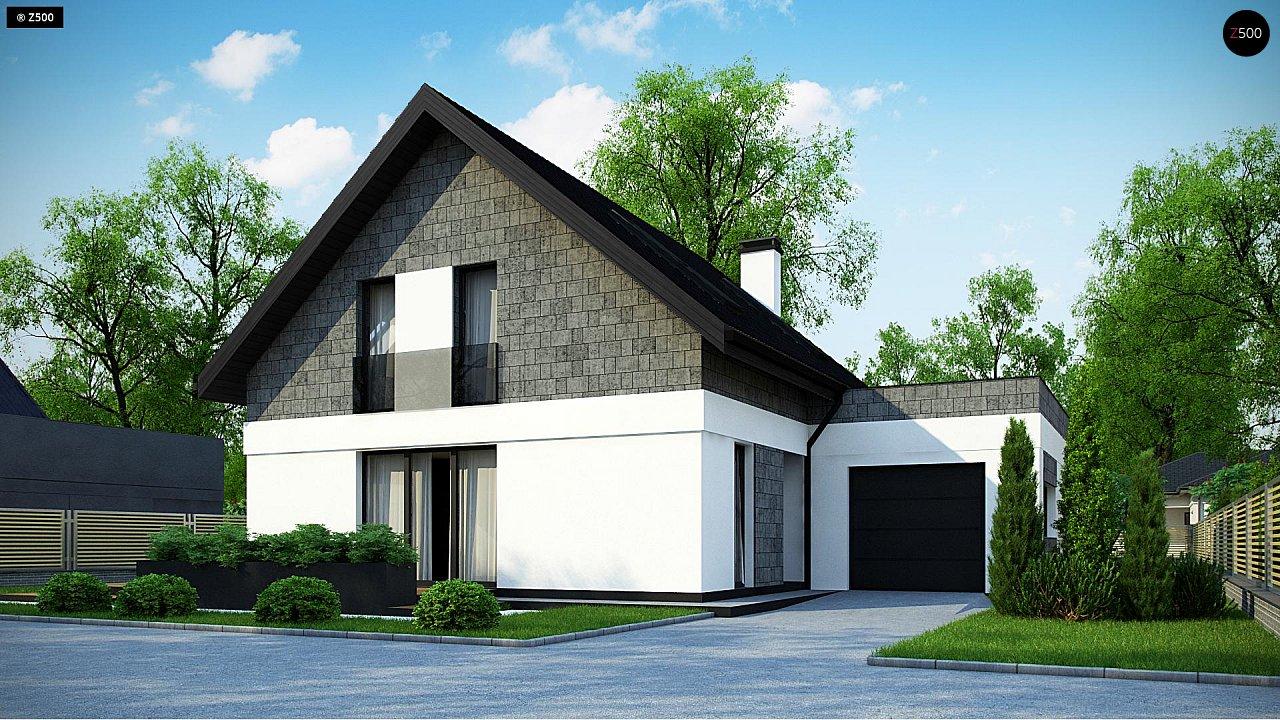 Проект будинку Z371 - 1