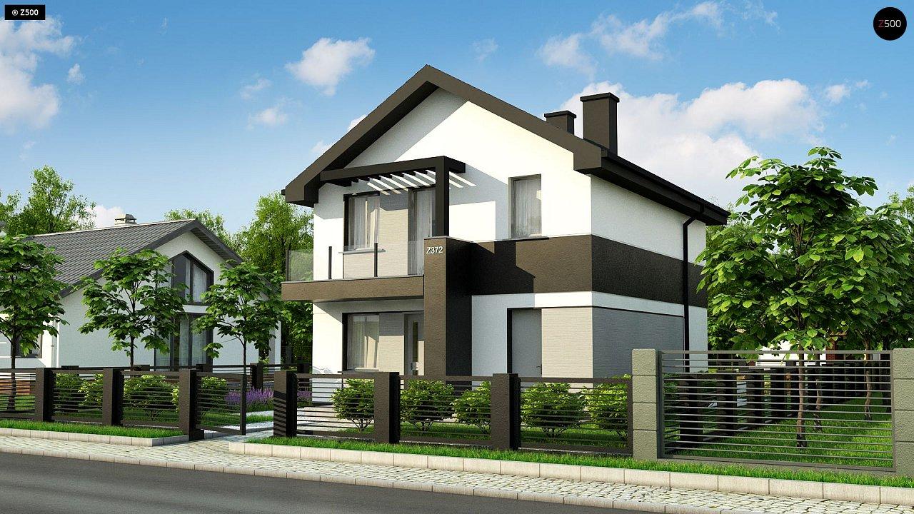 Проект будинку Z372 - 1