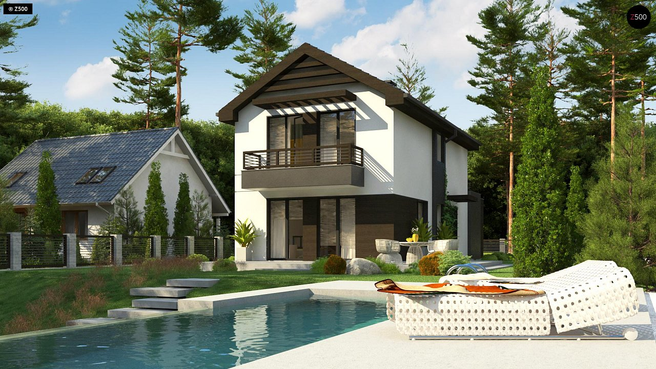 Проект будинку Z374 - 1