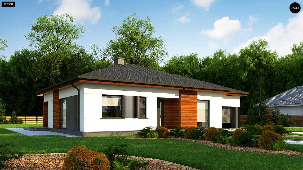 Проект будинку Z375 - 1