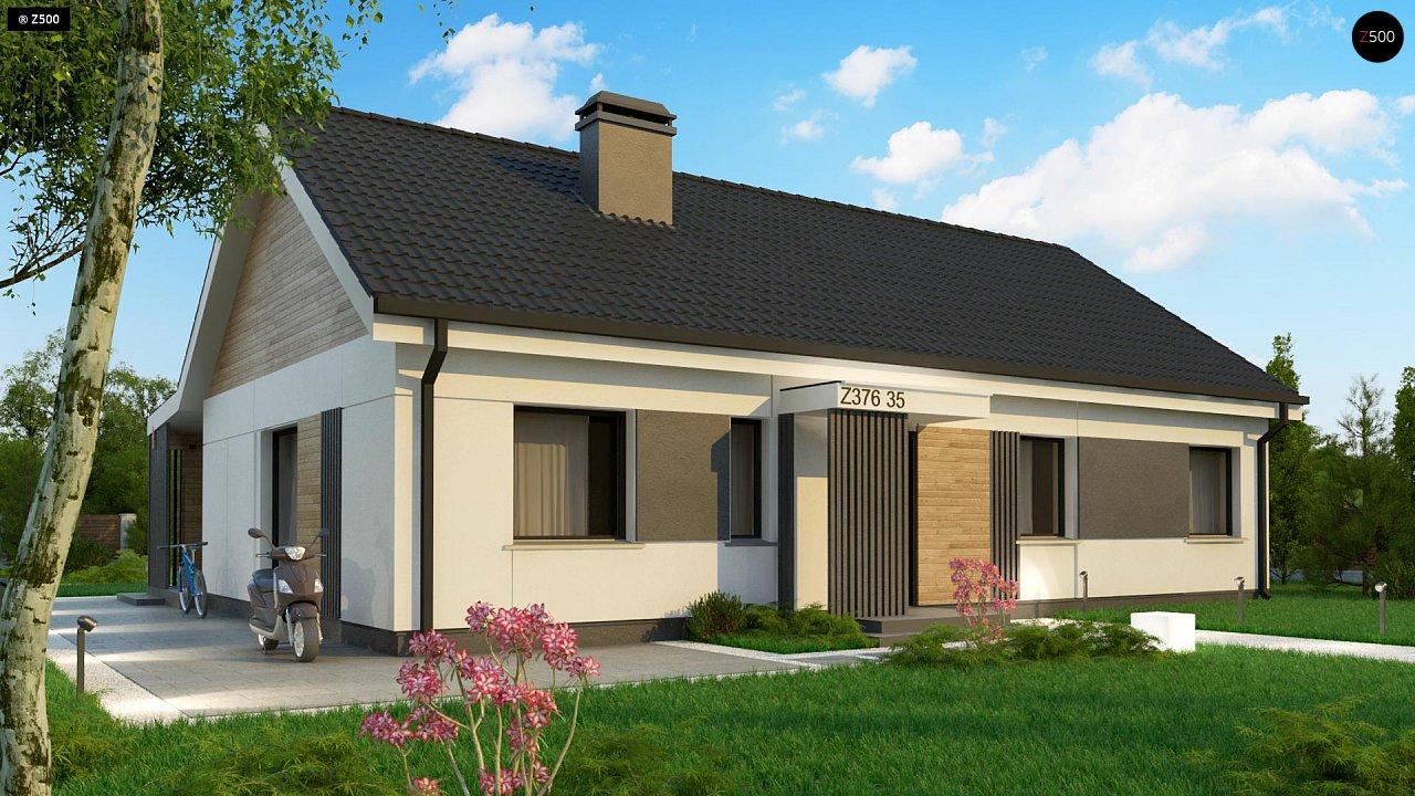 Проект будинку Z376 35 - 1
