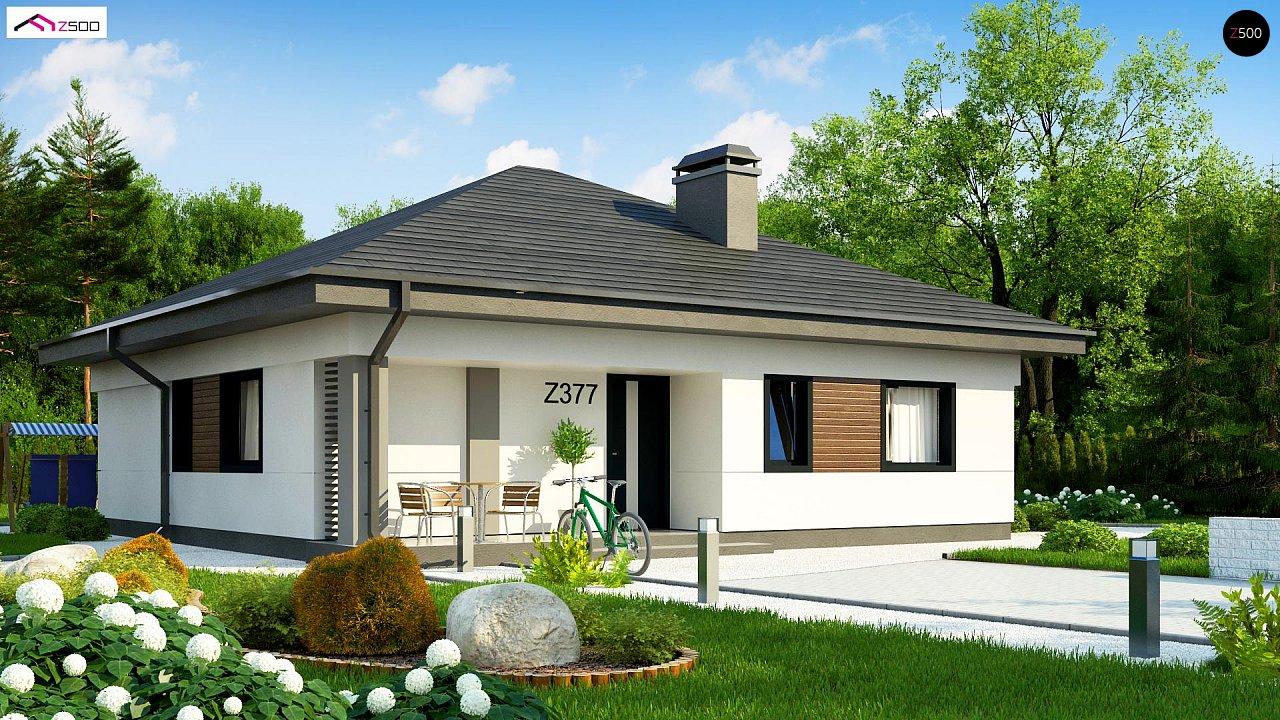Проект будинку Z377 - 1