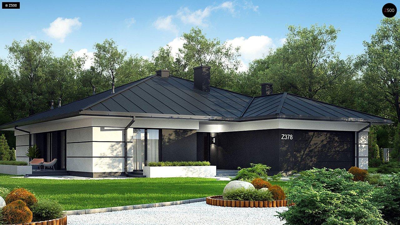 Проект будинку Z378 - 1