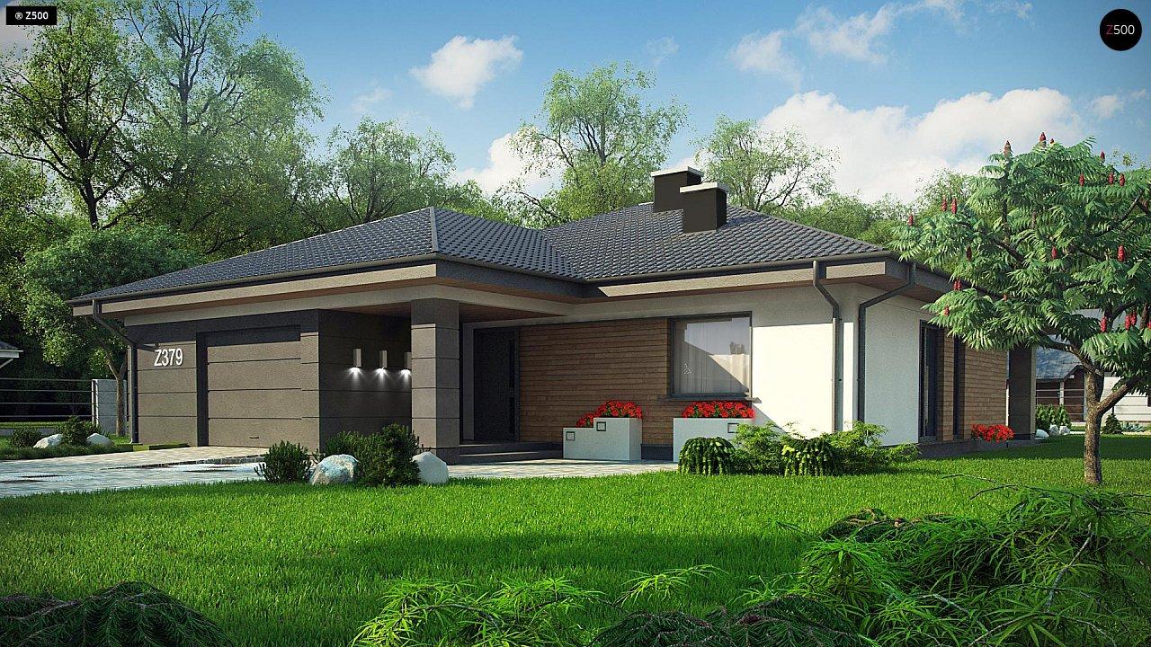 Проект будинку Z379 - 1
