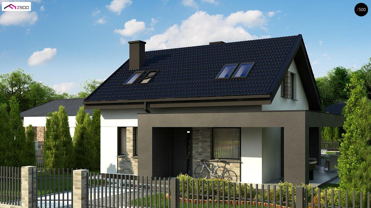 Проект будинку Z382 - 1