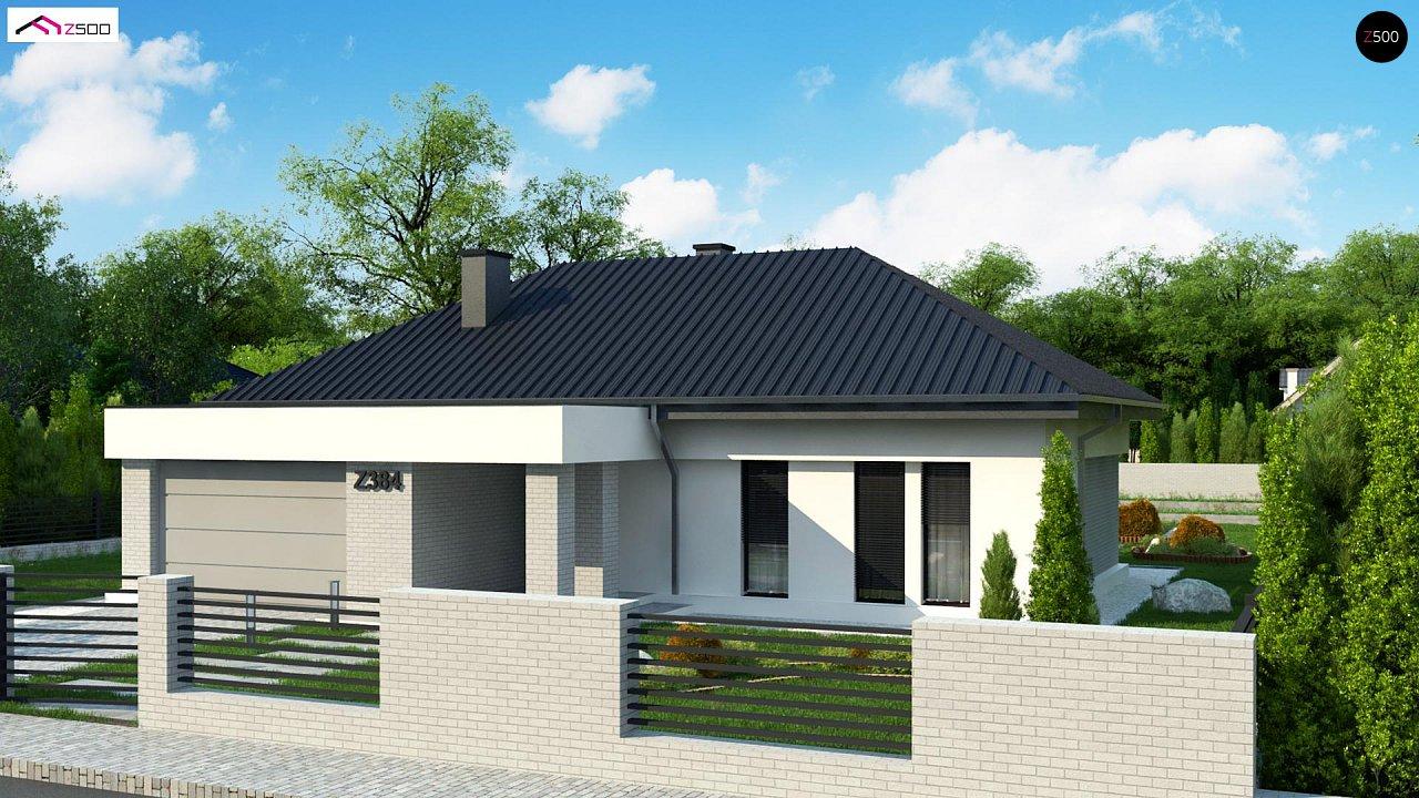 Проект будинку Z384 - 1