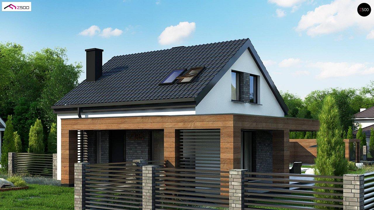 Проект будинку Z385 - 1