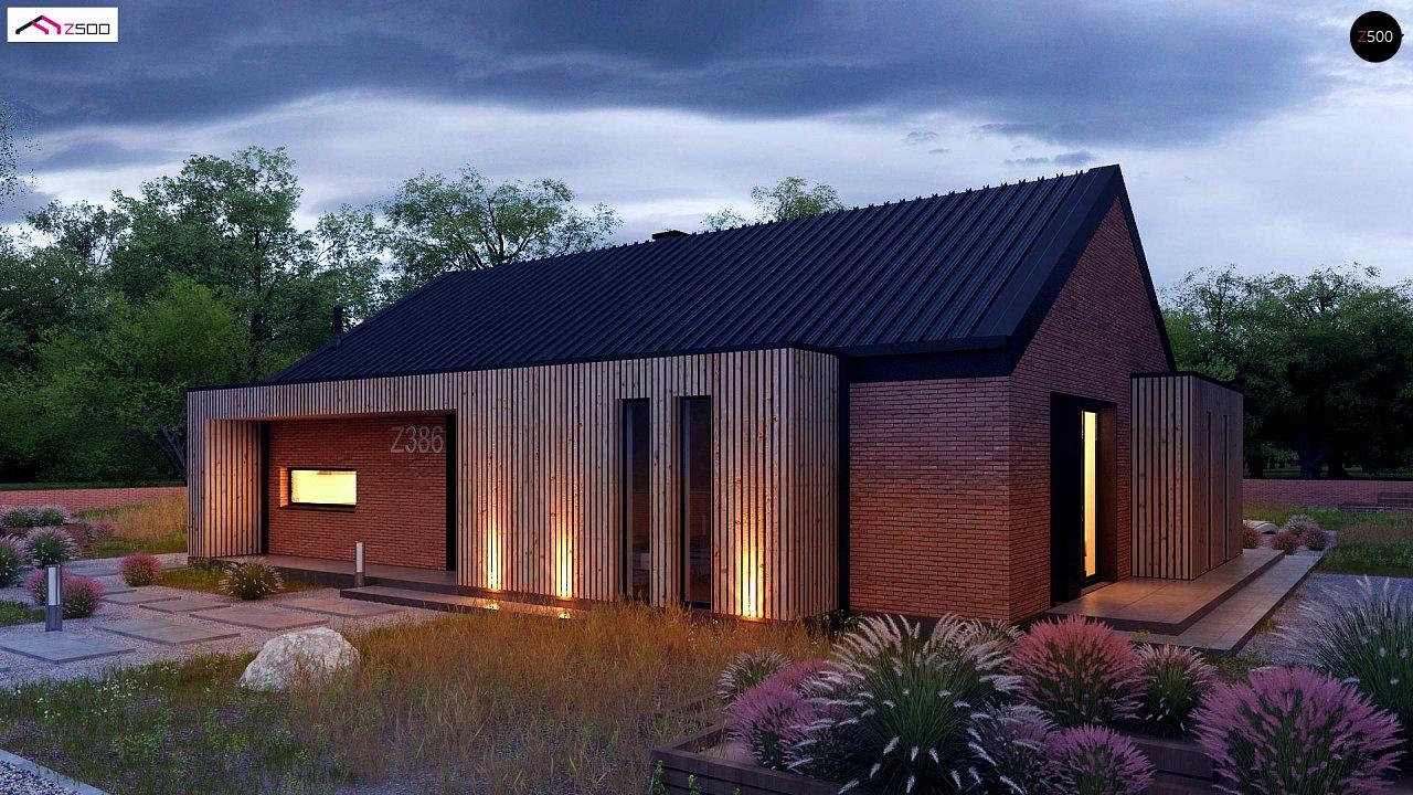 Проект будинку Z386 - 1