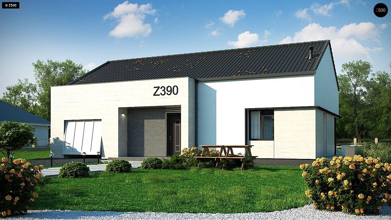 Проект будинку Z390 - 1