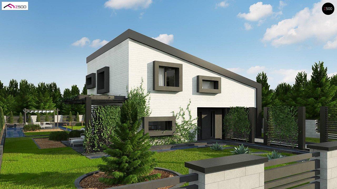 Проект будинку Z391 - 1